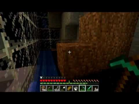 Minecraft - Ant Farm - Episodio 4 - Diversion cojiendo obsidiana! Videos De Viajes