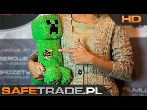 Minecraft Creeper Plush With Sound Maskotka CAF-126 | Www.safetrade.pl