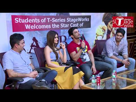 Interactive Session With Sushant Singh Rajput & Kriti Sanon | T-Series StageWorks