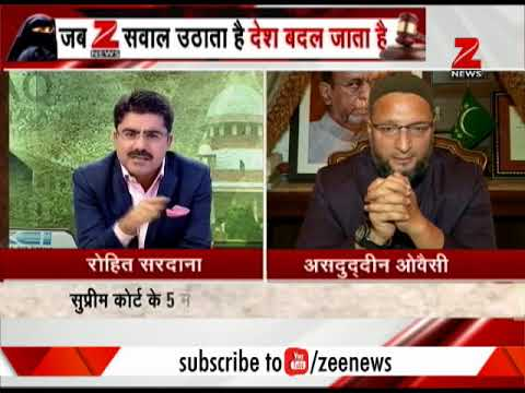 Watch what Asaduddin Owaisi has to say about SC's verdict on Triple Talaq