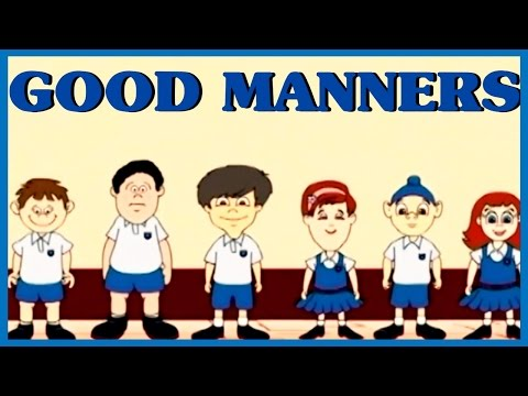 Learn Good Manners For Kids | Teaching Kids Manners & Etiquette | Rhymes4Kids