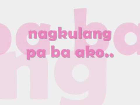 Yeng Constantino-Pag ayaw mo na with lyrics