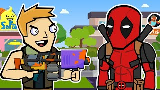 Party Royale & Deadpool | The Squad (Fortnite Animation)