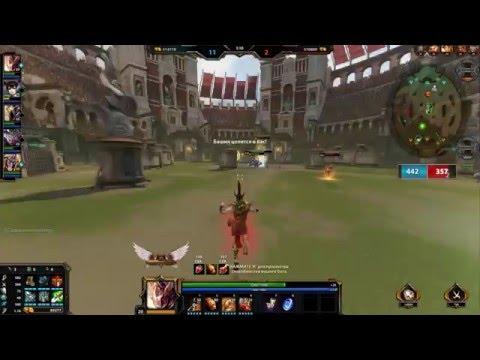 видео: smite - Меркурий на арене