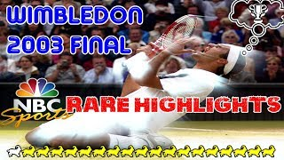 BEST QUALITY! Federer v Philippoussis ● Final Wimbledon 2003 Highlights