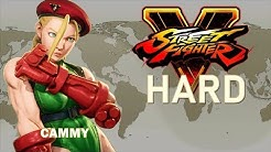 Street Fighter V - Cammy Arcade Mode (HARD)