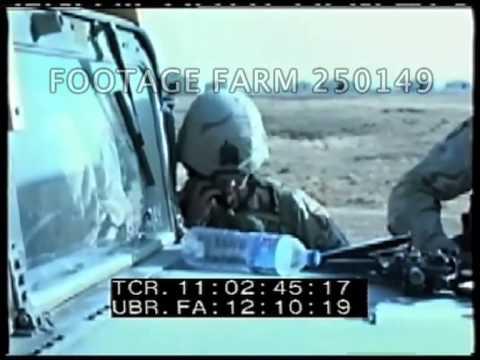 Iraq: Close Combat Attack Radio Training 250149-09   Footage Farm