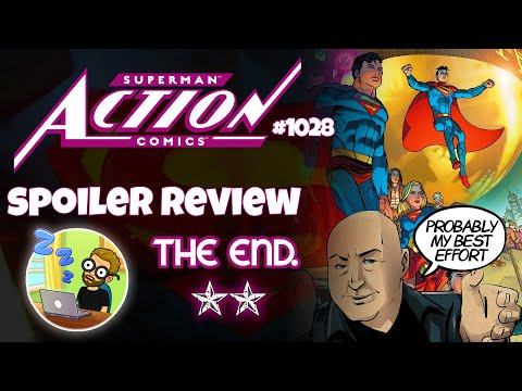 Bendis Exits ACTION COMICS on an Inoffensive, Boring High