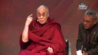 His Holiness Engages in 'Happiness & its Causes' Conference, Luna Park, Sydney-10th Jun  2015