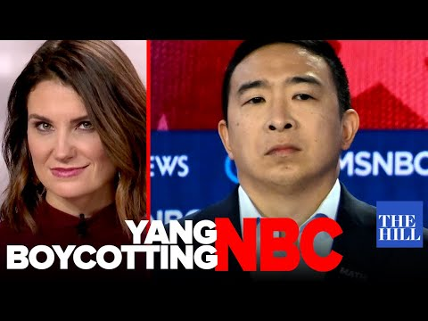 Krystal Ball: Andrew Yang's #BoycottMSNBC shows how the network lost the left