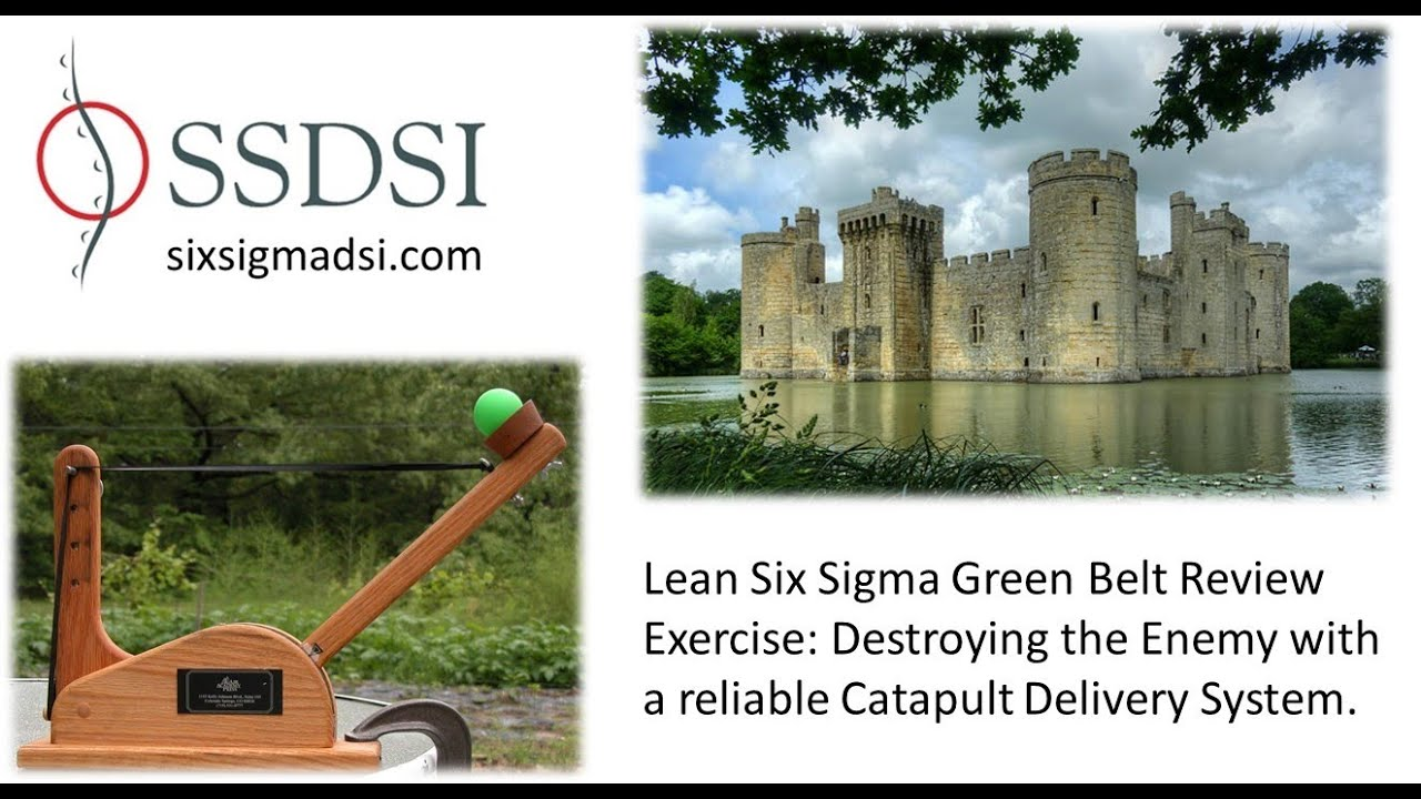 Lean Six Sigma Green Belt Review Exercise In The Black Belt Course