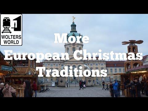 Unique European Christmas Traditions