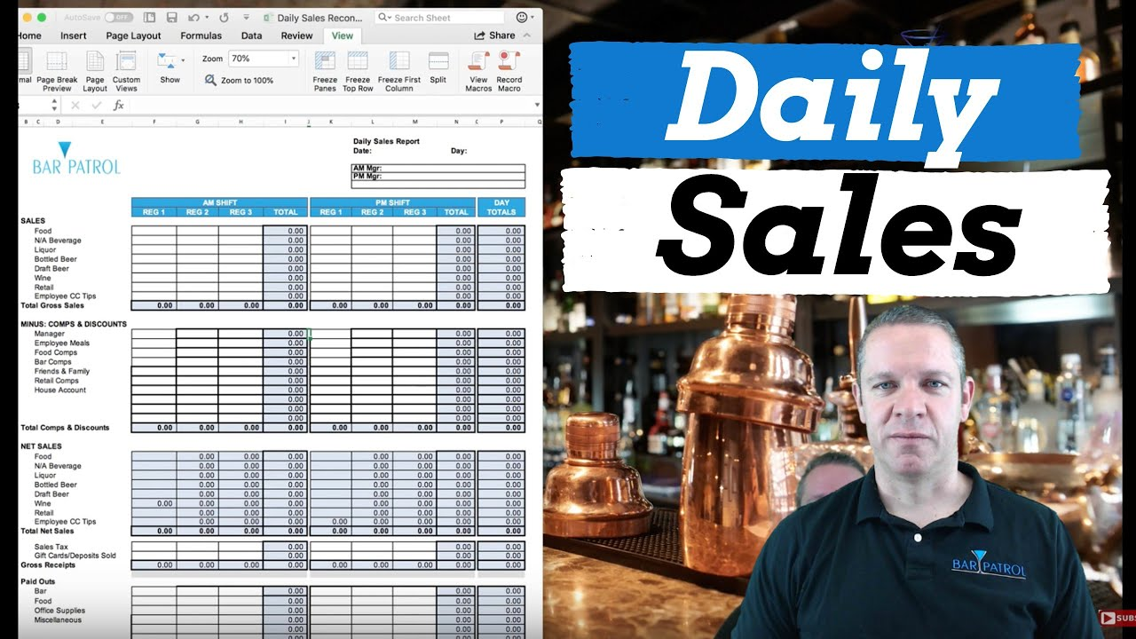 How to Track Daily Sales in Your Restaurant [With Template]