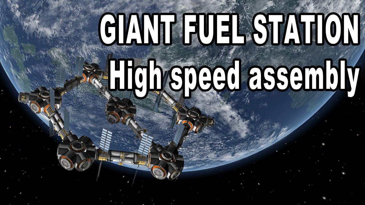 Kerbal Space Program - Building a Gigantic Hexagon Fuel ...