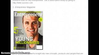 The Top 5 Most Influential Entrepreneur Magazines for 2015
