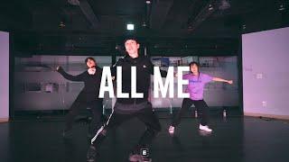 Kehlani - All Me (feat  Keyshia Cole) Choreography by TAEWAN / E Dance Studio 이댄스학원 코레오그래피