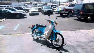 What Year is it Game Contest Honda Super Cub Scooter Moped Super Easy