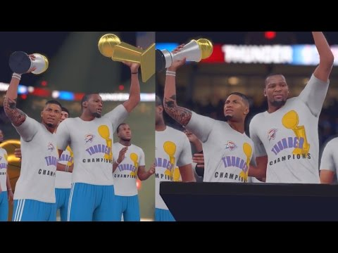 NBA 2K16 MyCAREER - NBA CHAMPIONS!! Shawn Harris LAST NBA GAME!! Going Out Like Kobe Bryant!!