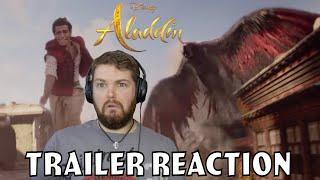 Aladdin Official Trailer Reaction