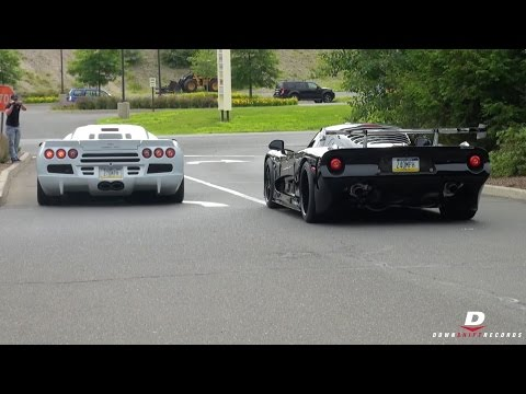 Mosler Raptor GTR // SSC Ultimate Aero – Sound!