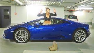 This Girl Stole A Lamborghini Huracan - Watch How