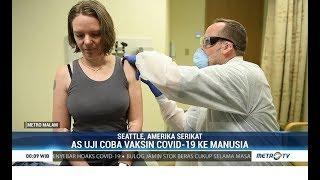 Ini Dia Sukarelawan Pertama Vaksin Covid-19 Diuji Coba ke Manusia