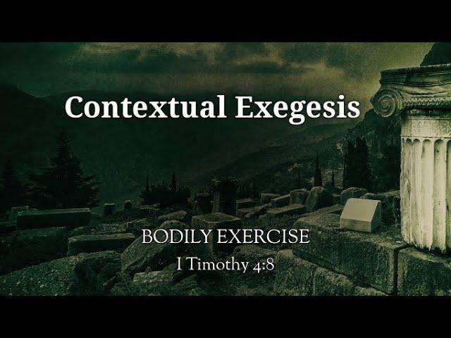 Bodily Exercise