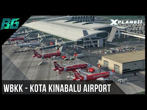 WBKK - Kota Kinabalu Airport Scenery By JustAsia | X-Plane 11