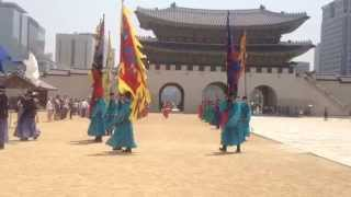 Video Gyeongbokgung Palace Change of Guard Ceremony Part 2 (Seoul, South Korea) download MP3, 3GP, MP4, WEBM, AVI, FLV Desember 2017