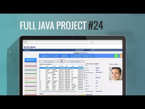 Projet Java#24: Comment imprimer Jtable en PDF