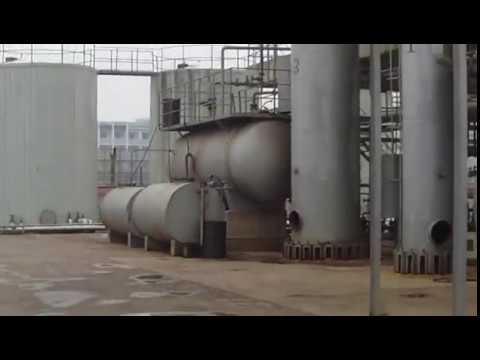 The Continuous Distillation Plant for Recycling Waste Oil