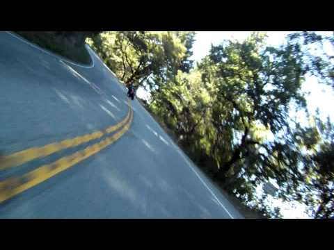 2010 Ducati Monster 1100S on HWY 9 (Saratoga side)
