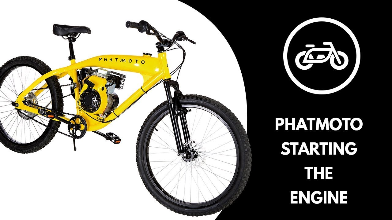 PHATMOTO™ Rover - 79cc Motorized Bicycle