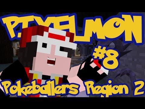 Minecraft Pixelmon: Pokeballers Server Region 2 - Episode 8 - HAUNTER!!