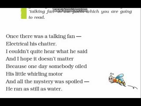 little busy bee poem summary