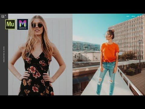 Fashion Designer Portfolio Template | Adobe Muse CC | Muse For You