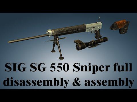 SIG SG 550 Sniper: Full Disassembly & Assembly