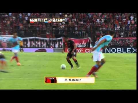 Colón debutó con un triunfo en su estadio ante Arsenal