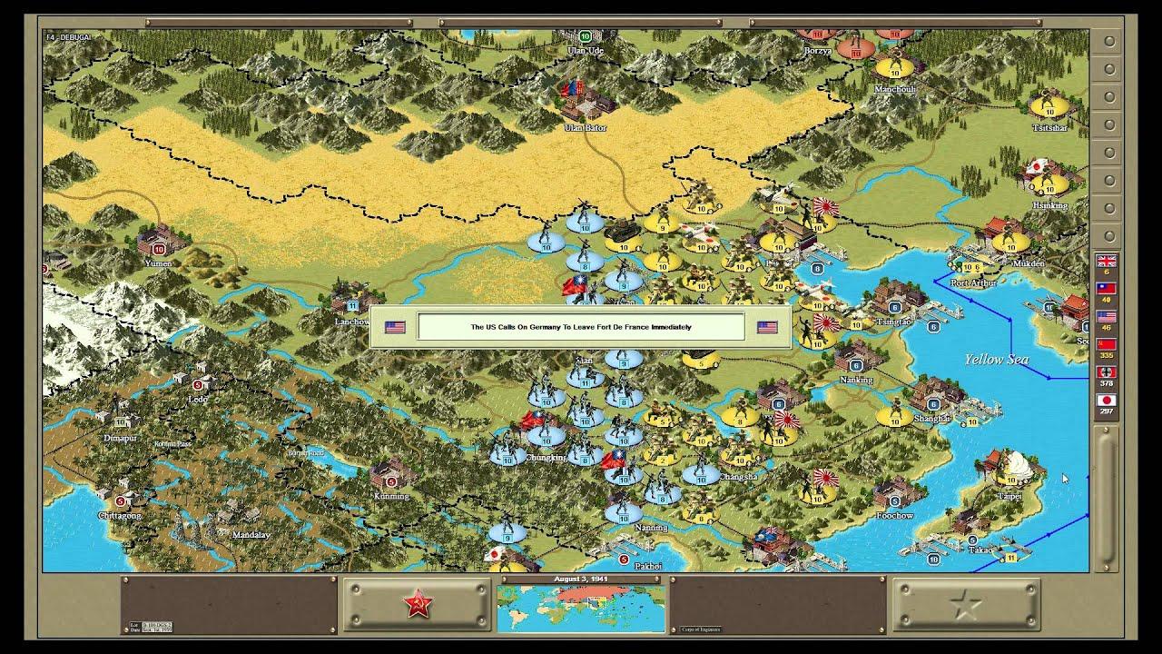 Strategic Command WW2 Global Conflict