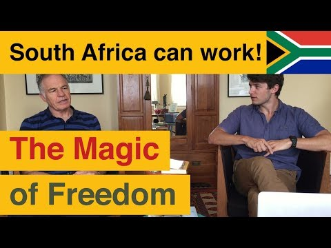 The Magic of Freedom: Frans Rautenbach in conversation about his Book, South Africa Can Work