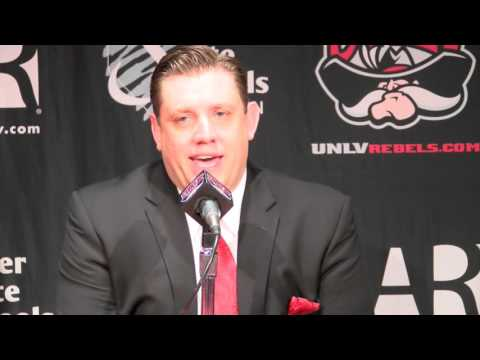 UNLV Men's Basketball Press Conference - Nevada, Reno