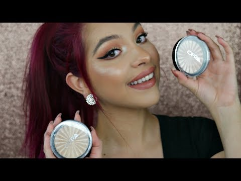 Ofra Cosmetics Highlight Review Rodeo Drive & Blissful