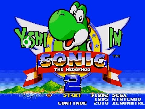 MD Yoshi in Sonic The Hedgehog 2