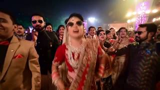 Most Amazing and Coolest Bridal Entry On Bullet with brother | Kunika kathuria |