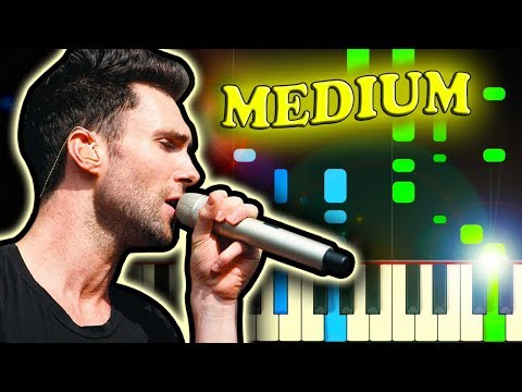 MAROON 5 - THIS LOVE - Piano Tutorial (Karaoke version)
