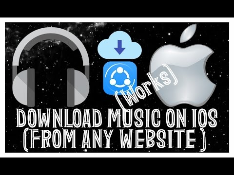 How to download music on iphone from any link or website ! (no jailbreak required - super easy)
