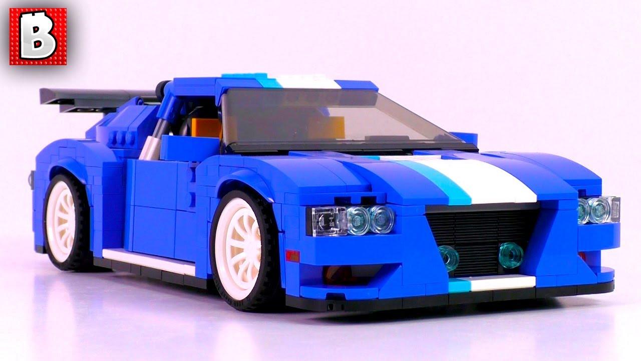 Lego Turbo Track Racer Creator 31070 Unbox Build Time Lapse