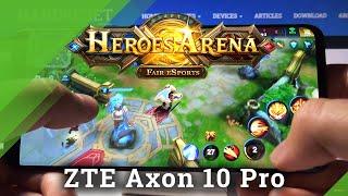 Арена героїв на ZTE Axon 10 Pro