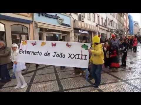Carnaval infantil e juvenil coloriu e animou Baixa de Coimbra