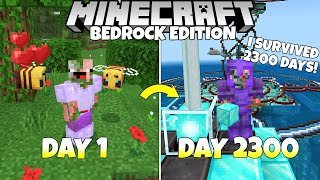I Survived 2300+ Days In Survival Minecraft Bedrock Edition, And This Is What Happened